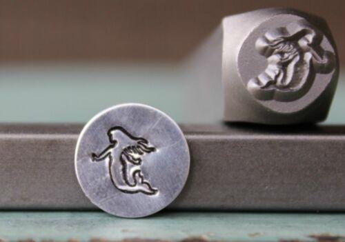 SUPPLY GUY 8mm Mermaid Metal Punch Design Stamp SGCH-132