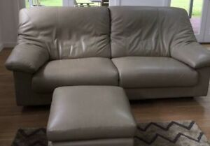 Sofa 2 seater leather couch from King Furniture Roseville Ku-ring-gai Area Preview