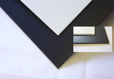Correx Sheets 1.2x2.4m 2mm|4mm just under 8x4ft - Pack size options flat or roll