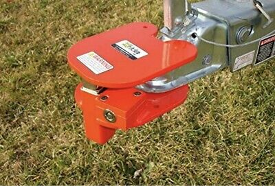 Equipment Lock Brhl Steel Ball Ring Hitch W Electro-plated Powder Coated Finish