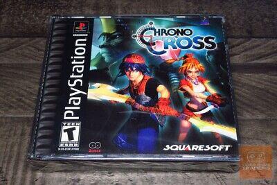 Chrono Cross 1st Print Black-Label (PlayStation 1, PS1 2000) FACTORY SEALED! comprar usado  Enviando para Brazil