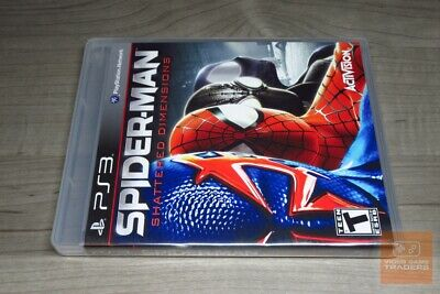 Spider-Man: Shattered Dimensions (PlayStation 3, PS3 2010) FACTORY SEALED! - EX!