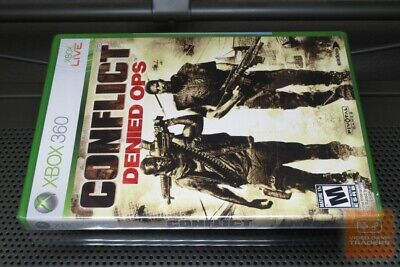 Conflict: Denied Ops (Xbox 360 2008) FACTORY SEALED! - RARE! for sale  Shipping to Nigeria