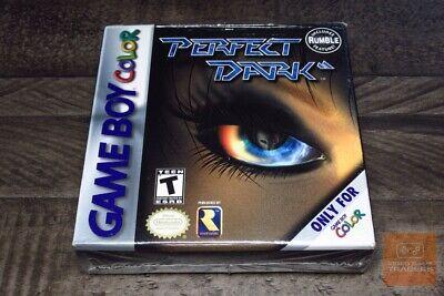 Perfect Dark (Game Boy Color, GBC 2000) FACTORY SEALED! - RARE! comprar usado  Enviando para Brazil