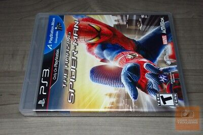 The Amazing Spider-Man (PlayStation 3, PS3 2012) FACTORY SEALED! - EX!
