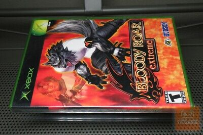 Bloody Roar Extreme (Xbox 2003) FACTORY SEALED! - ULTRA RARE! Bloody Video Games