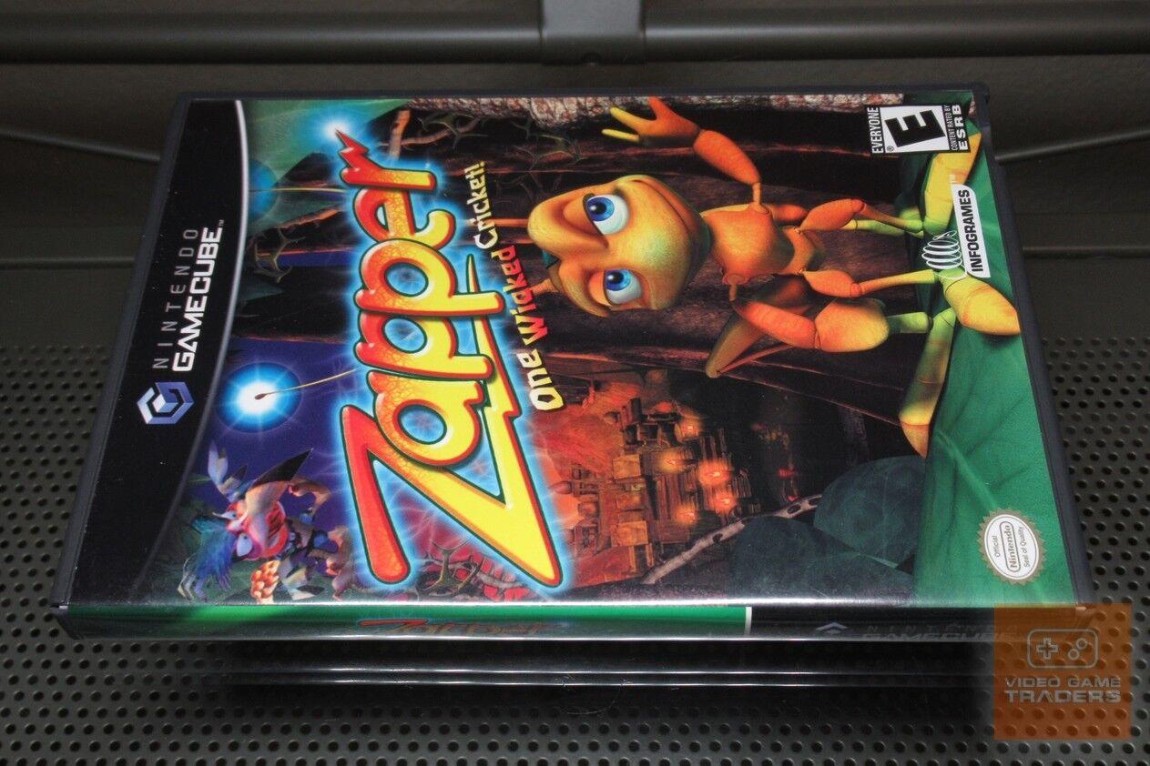 Zapper (Nintendo GameCube 2002) COMPLETE! - EX!