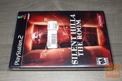 Silent Hill 4: The Room (PlayStation 2, PS2 2004) FACTORY SEALED! - RARE!, usado comprar usado  Enviando para Brazil