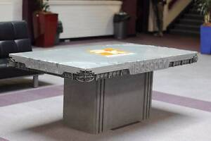 Wonderful Polished Concrete Table   Dining Tables   Gumtree Australia Free Local  Classifieds