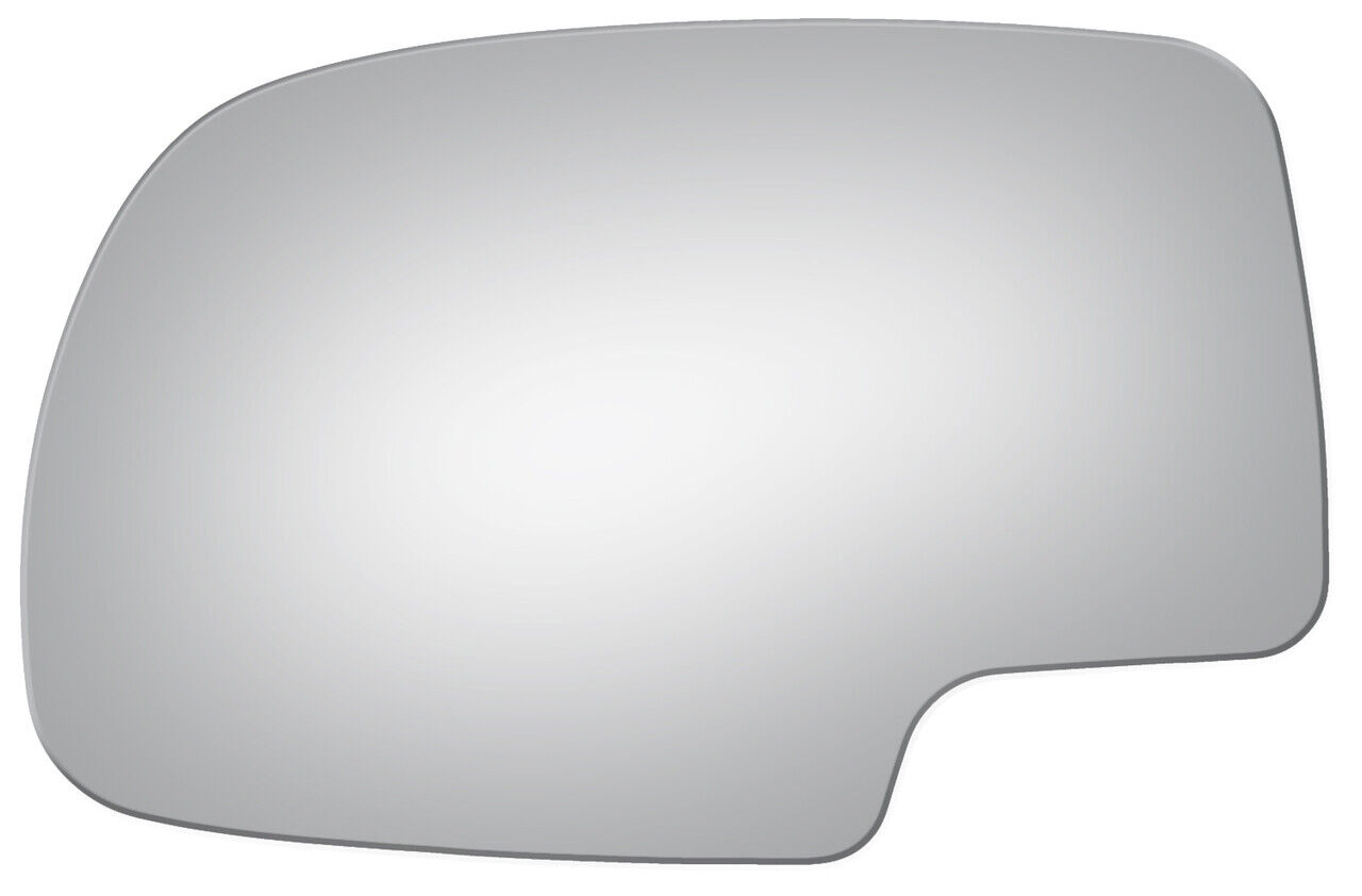 New Flat Driver Side Replacement Mirror Glass For 2002