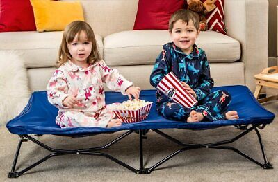 Regalo My Cot Portable Toddler Bed, Includes Fitted Sheet, Royal Blue Portable Toddler Bed