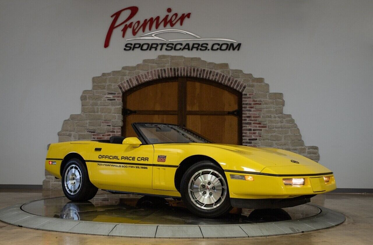 1986 Yellow Chevrolet Corvette   | C4 Corvette Photo 4