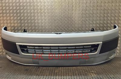 VW T5 T5.1 FACELIFT TRANSPORTER FRONT BUMPER WITH GRILLS 2010-ON