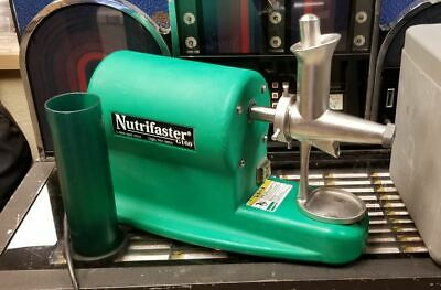 Nutrifaster Commercial Wheatgrass Juicer G160