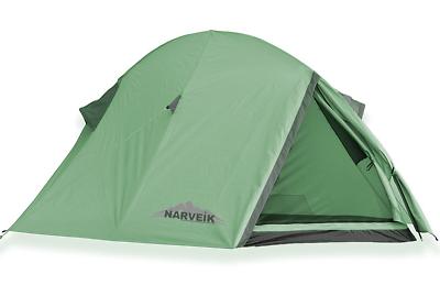 Norskskin Tellta 2 Personen Biker Zelt nur 2,1 Kg 3000 mm Wassersäule Camping