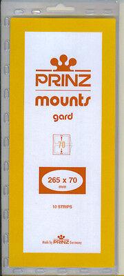 Package of 10 Prinz BLACK Mounts 265 x 70
