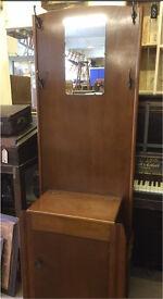 Vintage hall coat stand 50s/60s super item