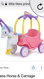 Little tikes princess carriage