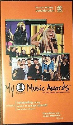 2000 Vh1 My Music Awards Rare Vhs Video  Metallica  Creed  Red Hot Chili Peppers