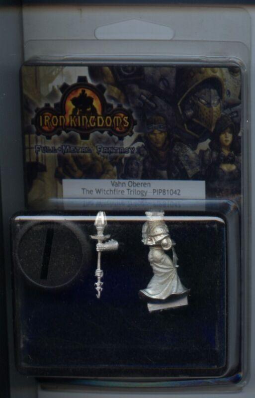Iron Kingdom Vahn Oberen Witchfire Trilogy MINT