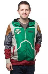Star Wars Boba Fett Armor - Windbreaker Jacket (Men's, Medium)