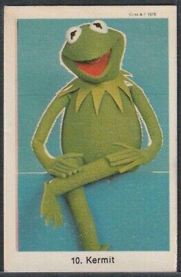 1978 Kermit The Frog Card Swedish Gum Muppets Set #10