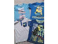 4 x boys t-shirts size 3-4 years