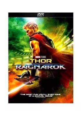 Thor  Ragnarok  Dvd  2018  New   Action  Comedy  S Fiction Now Shipping