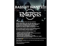 Bassist Wanted!! Heavy Metal \,,/