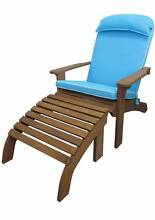 ECO Seat Pad Cushion Outdoor Chair Patio Furniture Blue & Green Campbellfield Hume Area Preview