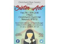 CMS Present - Sister Act The Musical 7th - 10th February 2018