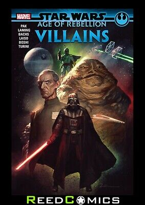 STAR WARS AGE OF REBELLION VILLAINS GRAPHIC NOVEL (128 Pages) Collects One Shots
