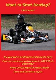 Want to start karting? Try racing Go Kart !
