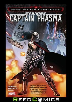 JOURNEY TO STAR WARS THE LAST JEDI CAPTAIN PHASMA GRAPHIC NOVEL Collects #1-4