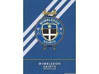 Wimbledon Saints (Adult Amateur Football Club) looking for a Striker and Left back. Saturday team.