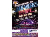 Beaconsfield Cricket Club Fireworks Festival