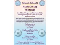 ☆ 11 A SIDE PLAYERS WANTED ☆
