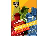Cardiff Softball - Taster Session for Ladies only - Saturday 21st April