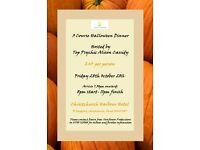 3 Course Halloween Dinner & Psychic Night - Hosted by Top Psychic Alison Cassidy