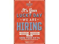 Roxy Ball Room - Huddersfield - Bar Supervisor