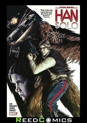 STAR WARS HAN SOLO GRAPHIC NOVEL New Paperback Collects 5 Part Series