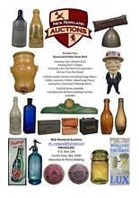 Antique bottles and collectables Auction 30 April Brisbane Region Preview