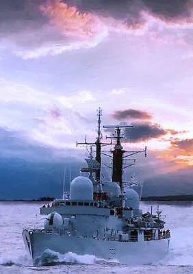 HMS LIVERPOOL - HAND FINISHED, LIMITED EDITION (25)