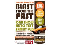 BLAST FROM THE PAST with AW Autotech Limited - Car & Motorcycle Show - Autotest - Family Fun Day