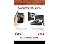 CCTV SYSTEM FULL 1080P HD - FULLY FITTED! DOMESTIC OR COMERCIAL. WITH APP IOS OR ANDROID