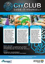 CIY.Club (Code It Yourself Club) School Holiday Program for Kids Austinmer Wollongong Area Preview