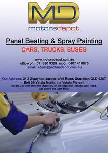 MotorsDepot Panel and Spray Painting Services Cars, Trucks, Buses Stapylton Gold Coast North Preview
