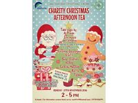Charity Christmas afternoon tea essex