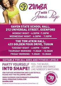 Zumba dance fitness classes- Pacific Pines Oxenford Gold Coast North Preview
