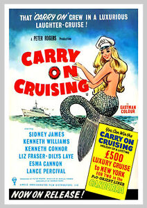 A3 - Carry On Cruising Movie Film Cinema wall Home Posters Art #10